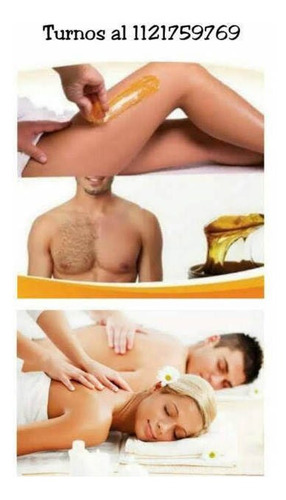 depilación masculina con cera de miel