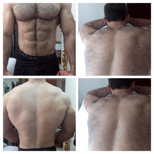depilacion masculina pecho espalda axilas abdomen hombros
