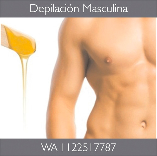 depilacion masculina promo verano hombres