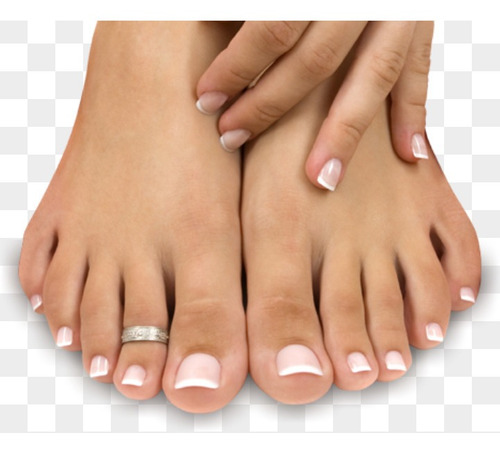 depilación  (pierna entera) + pedicuria y manicuria