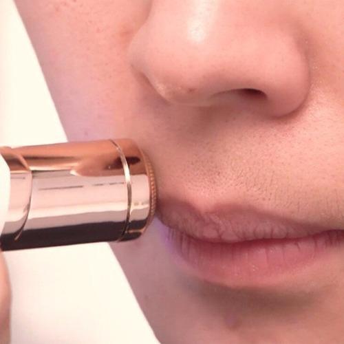 depilador afeitadora facial recargable flaw cara vello labio