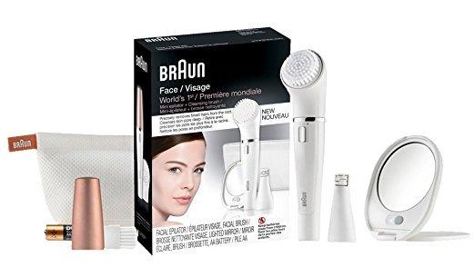 Depilador Facial Braun Face Platinum   Top De Linha Original