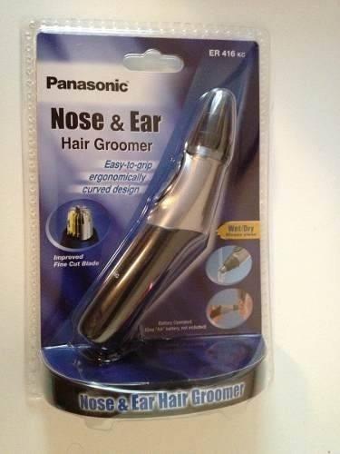 depilador panasonic -para pelos do nariz e orelha - er416 kc