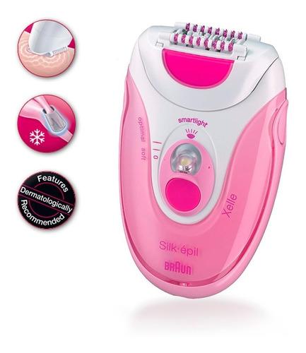 depiladora braun se5-380 multi pink r5676
