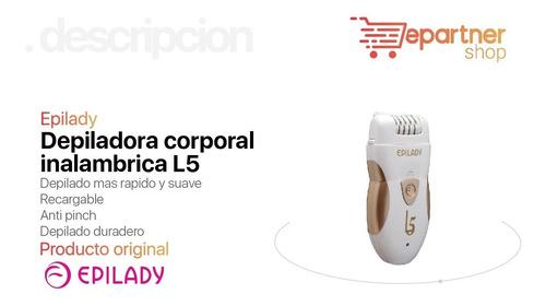 depiladora eléctrica corporal inalámbrica epilady l5 full