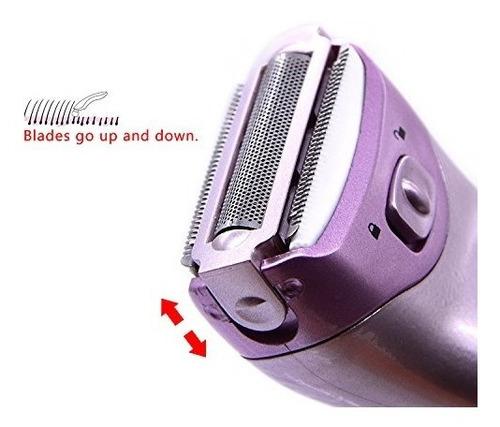 depiladora eléctrica para mujeres, de afeitadora eléctrica,