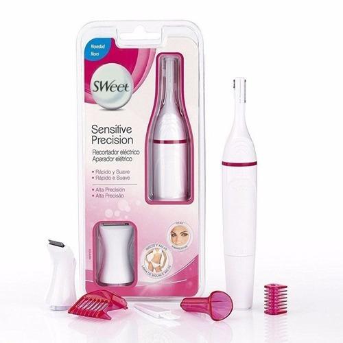 depiladora facial fla + afeitadora eléctrica sweetse egratis