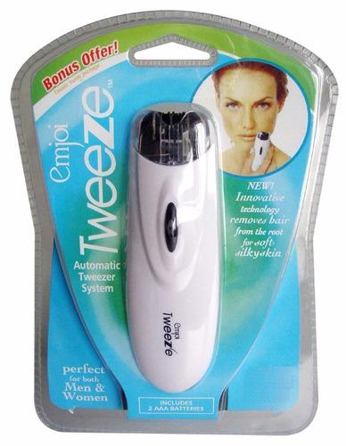 depiladora facial tweeze portatil compacta sin dolor vbf