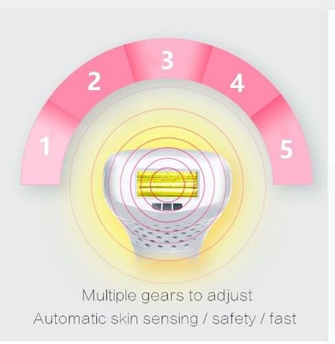 depiladora láser permanente ipl hombres y mujeres