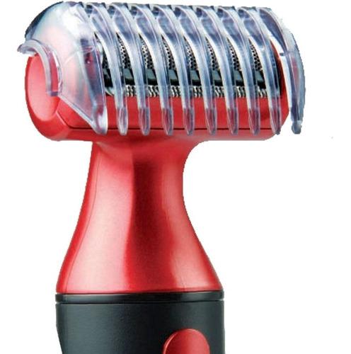 depiladora masculina gama body groomer + trimmer nariz y oido patilla + desodorante nivea men