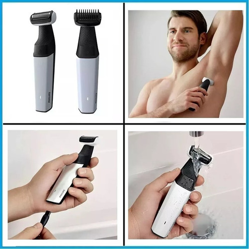 depiladora masculina philips bg3005 bodygroom recargable