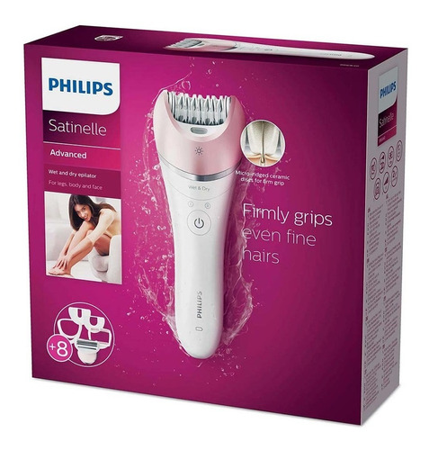 depiladora philips bre640/00 satinelle advanced