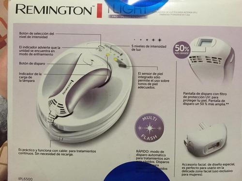 depiladora remington laser