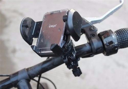 deportes clip manubrio de bicicleta para iphone samsung
