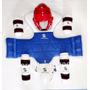 Taekwondo Set Completo De Protectores - Importados!!!