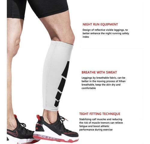 deportes pierna ternero pierna abrazadera apoyo tramo manga