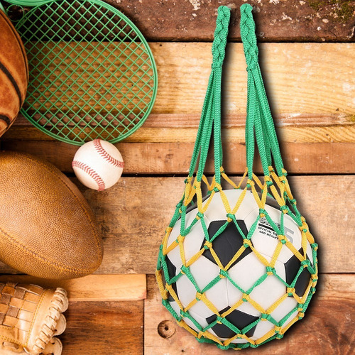 deportes portátiles de malla de fútbol bolsa de red balonces