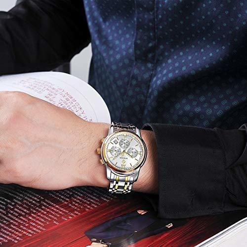 deportes relojes de cuarzo para hombres moda de lujo vestido