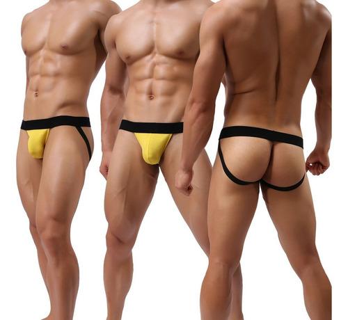 deportivo jockstrap suspensorio ropa interior hombre
