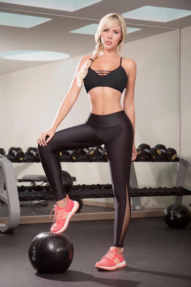 Deportivo Para Dama En Lycra Fitness Gym fe9800bb771c