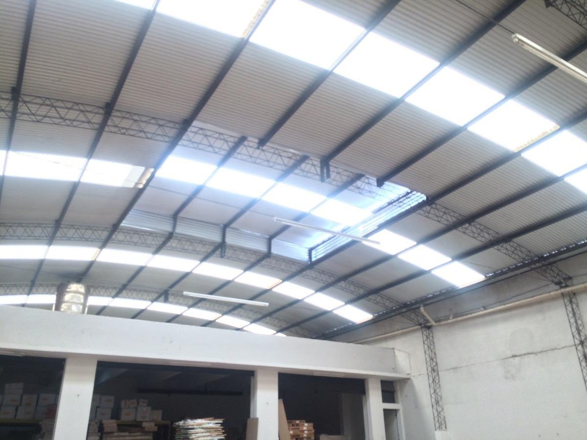 deposito 1050 m, techo 6m, incendios, ent contenedor, e3