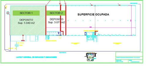 depósito 3000m2 - centro de distribución pacheco