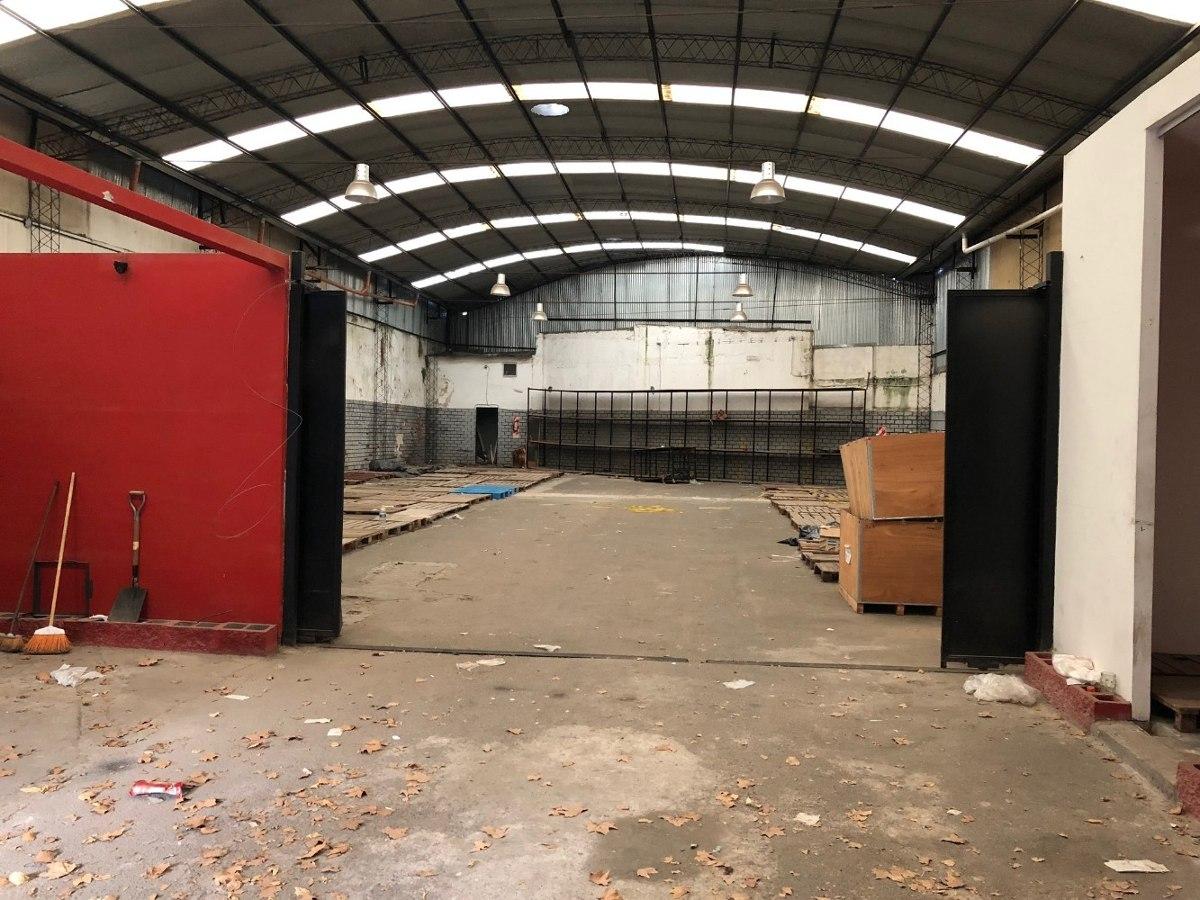 deposito 610 m2 17.5x44 techo 6m sin columnas ent contenedor