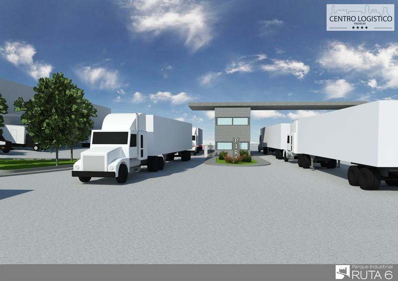 depósito centro logístico en parque industrial ruta 6