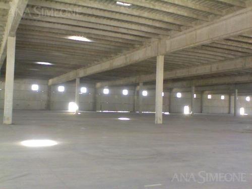 depósito de 10.000 m2 construidos, sobre fracción de terreno  de 19.500m2