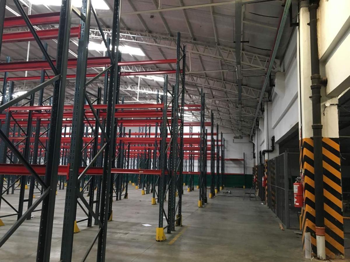depósito en alquiler en hurlingham 7.000.- m2 - seguridad 24  hs - comerdor en planta -red de hidrantes -