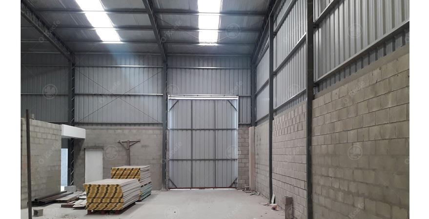 deposito en parque industrial en alquiler 600 m2 berazategui zona sur - pibera