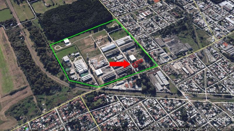deposito en parque industrial en venta de 2400 m2  lomas de zamora zona sur