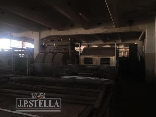 depósito / galpón 4129 m2 en 3 plantas - lomas del mirador