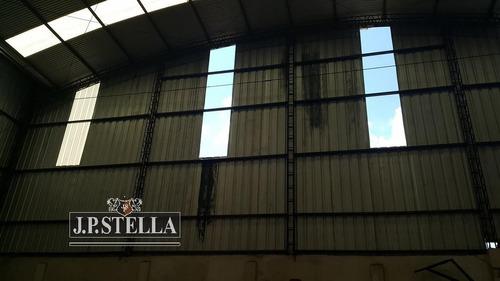 depósito / galpón comercial 736 m² - lote 1016 m² sobre avenida - lomas del mirador