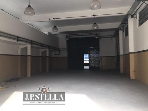depósito / galpón industrial sobre camino de cintura - lote 856 m² - cubierto 692 m² - 9 de abril