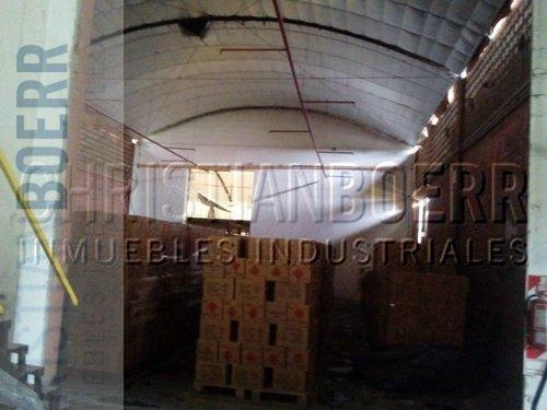 deposito industrial de 1.376m cub. sobre fraccion ind. de 76