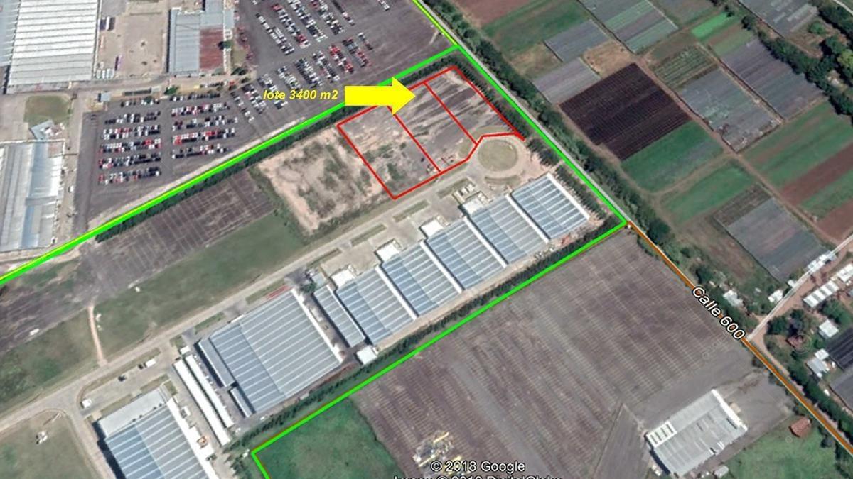 deposito industrial en alquiler de 2000 m2 en parque industrial pibera