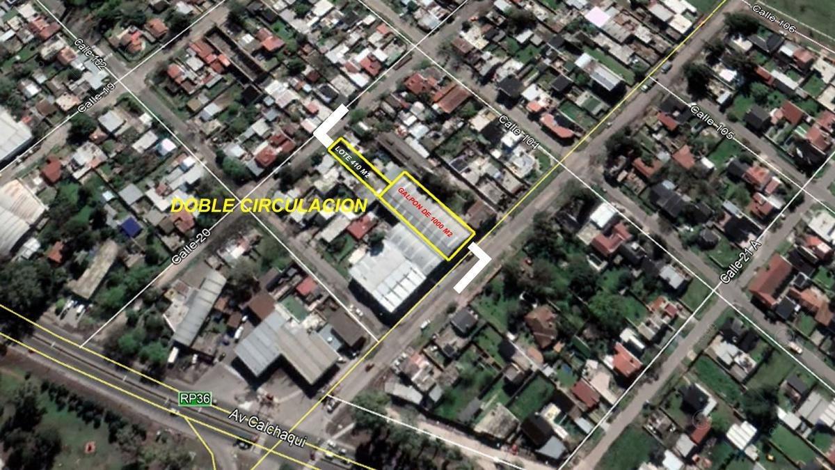 deposito industrial en venta berazategui zona sur- muy buena ubicacion!!
