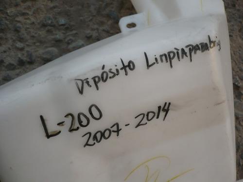 deposito limpiaparabriza l200 2010 detalles- lea descripción