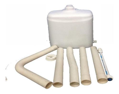 deposito mochila de pvc para inodoro kit sanitario tigre