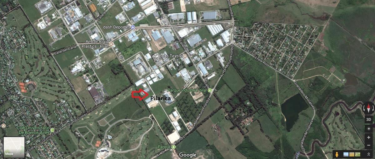 depósito - nave 3.200m2 - parque industrial pilar