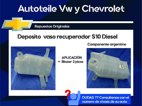 deposito vaso recuperador s10 diesel blazer 2 picos