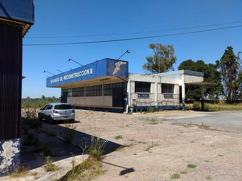 depósito y oficinas con playa en venta en campana sobre panamericana