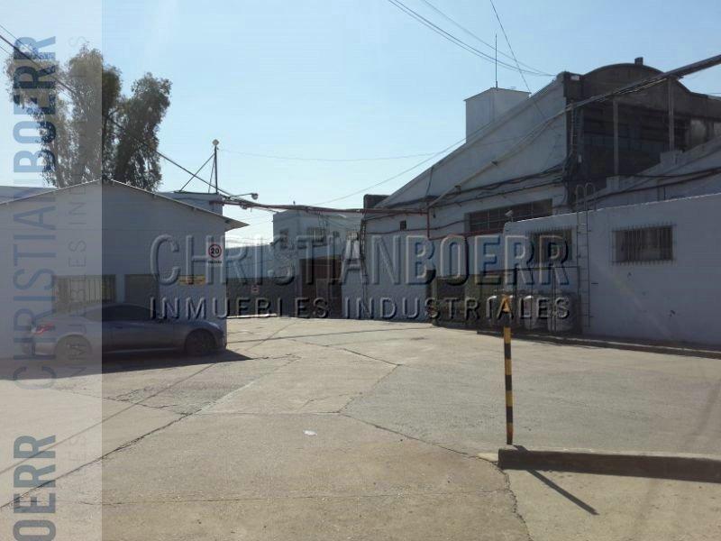 depósito/planta industrial de 800m en complejo industrial.