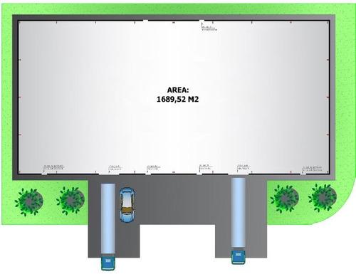 depósitos en alquiler o venta en los cardales. 1690 m2 divisible en modulos