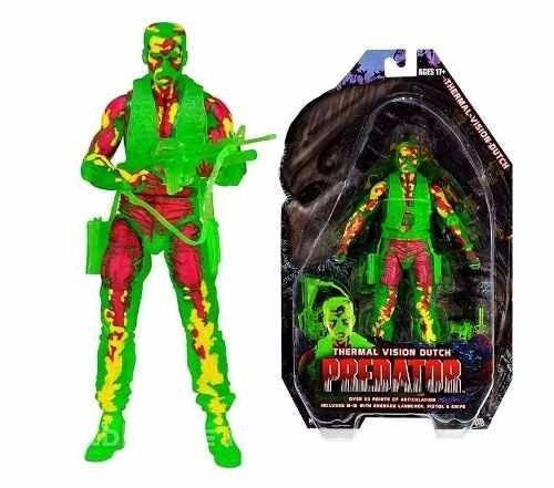 depredador predator vision thermal dutch neca 18 cm