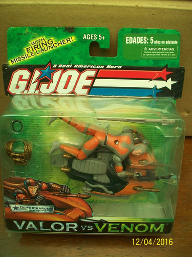 depthcharge with wave crusher g.i.joe