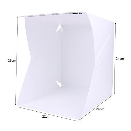 depthlan kit plegable para estudio fotográfico con luz led