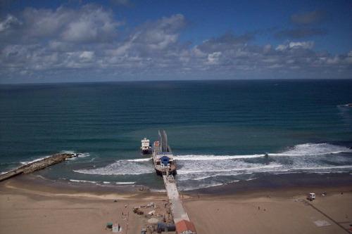 depto. 1 1/2 ambiente con vista plena al mar y cochera