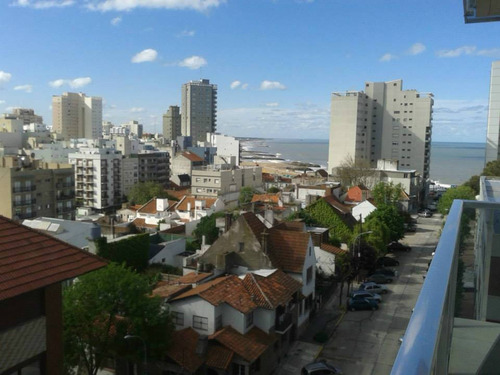 depto. 1 ambiente cfte. con balcón y vista abierta
